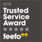 Feefo Trusted Service Award Winner